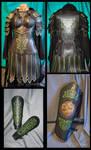 Female Celtic Leather Armour
