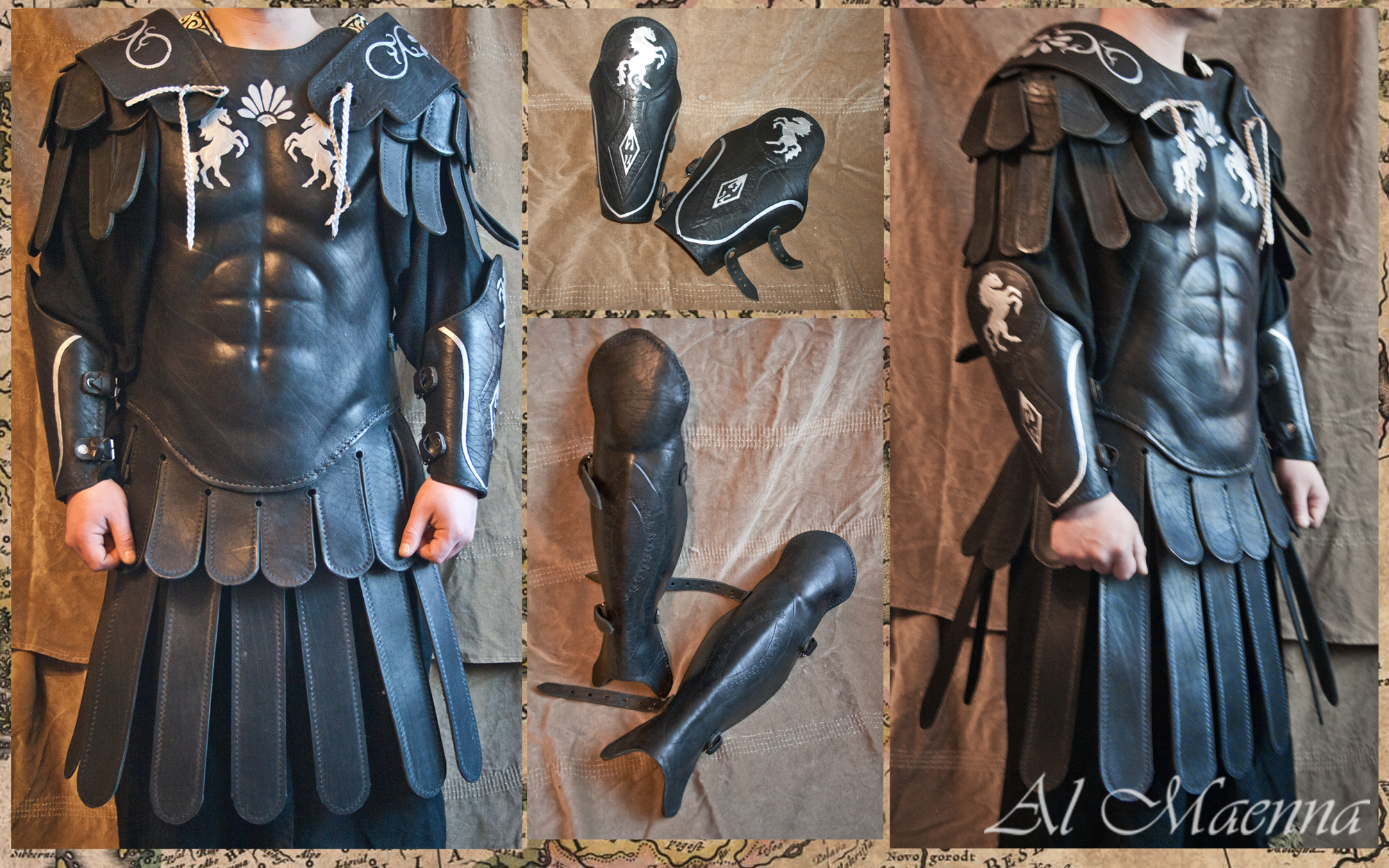 Leather Imperial Armor by Shattan
