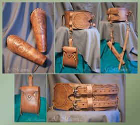 Forest Elven Ranger Set