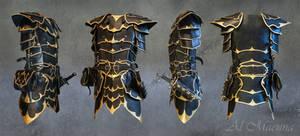 Druchii Armor (dark elven armor) by Shattan