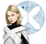 Commission: X-Men: Proof Emma Frost Has A Heart by GimmiSky