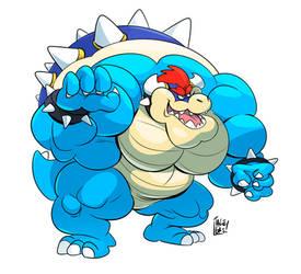Blue Bowser