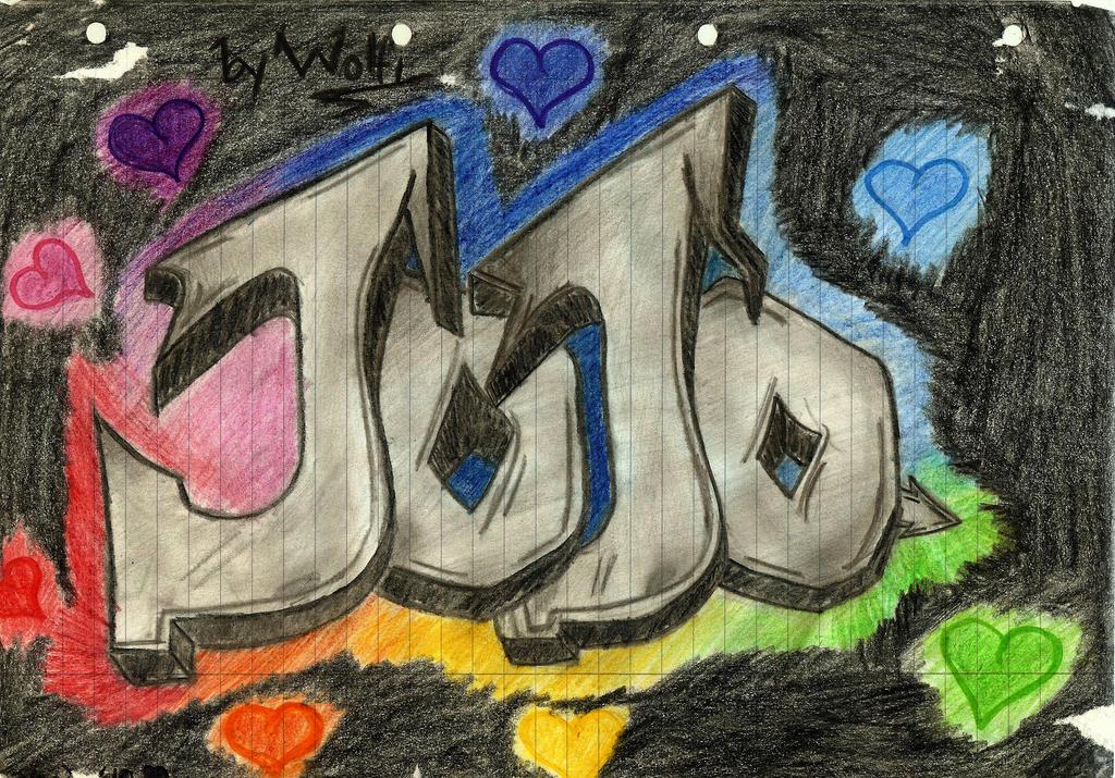 Jojo Graffiti by...O Graffiti Letters