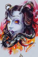 Snake by LilinetKor
