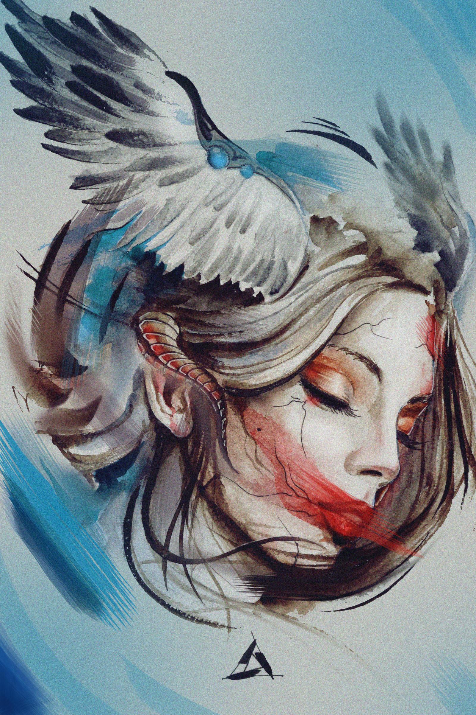 Wing cherries by LilinetKor
