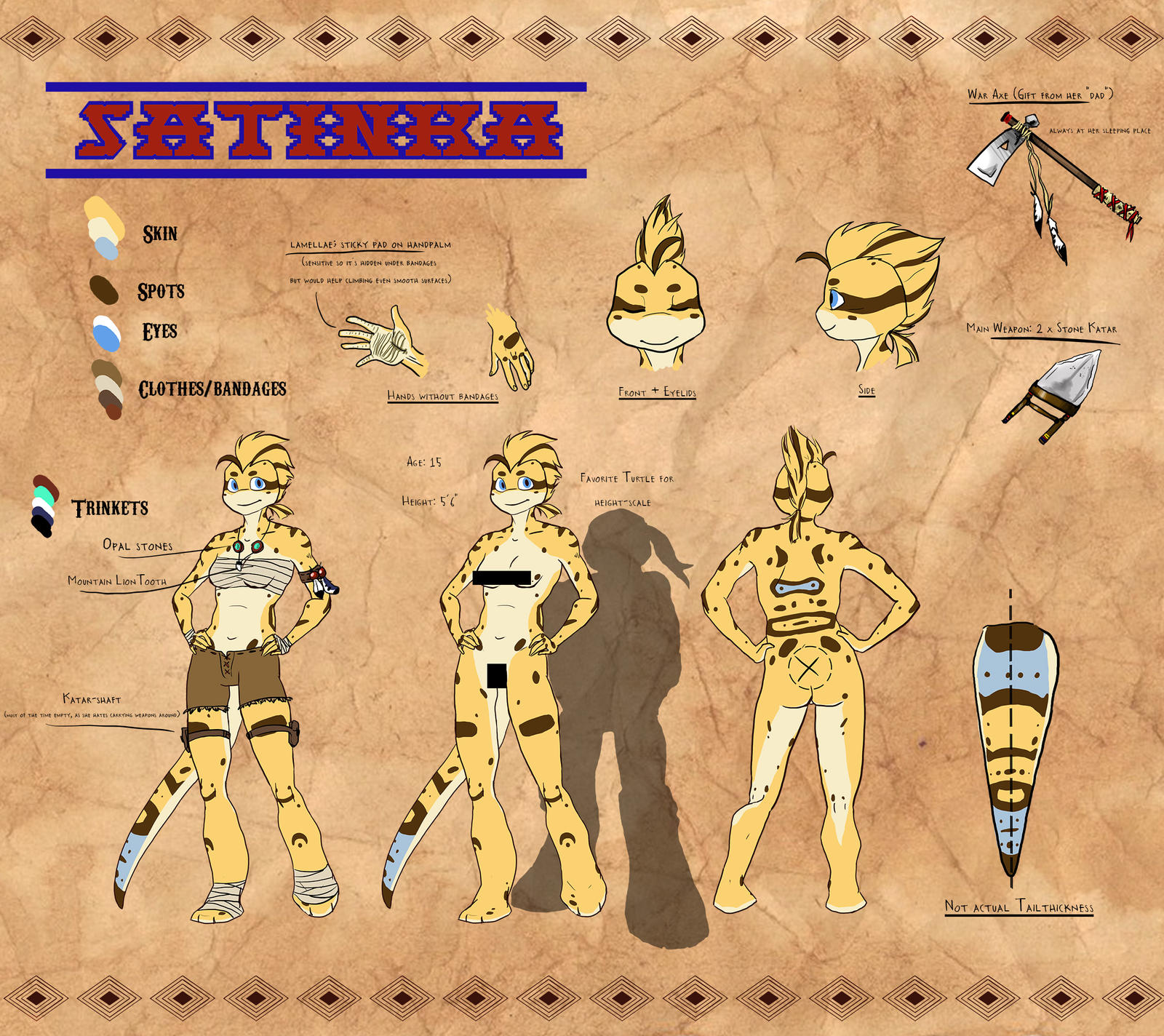 sheet by jayjayrey satinka the leopard gecko ref sheet by jayjayrey