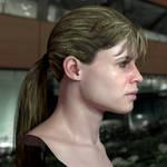3d model Sarah Connor 4