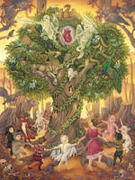 'Tree of Life' by Heather Watts by STF-Wooly