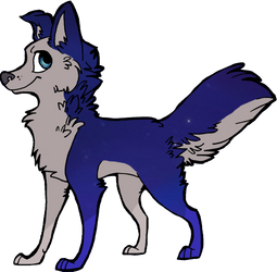 Winning Wolf/Dog Commish for TaylorBoyKino3o by amuisawesome