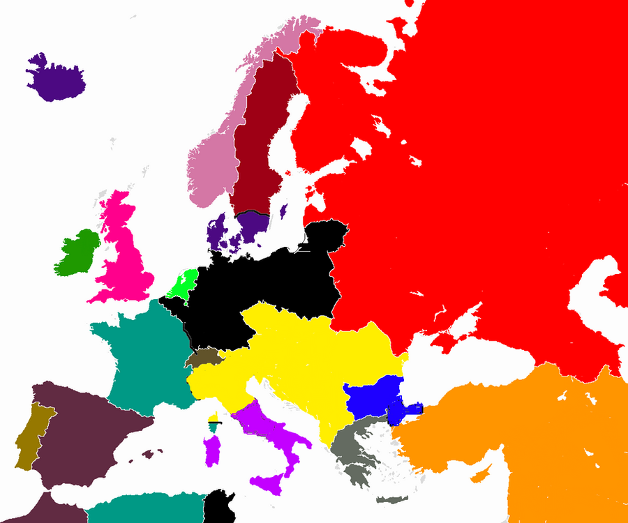 If The Central Powers Won WW1 by hailmotherpoland on DeviantArt