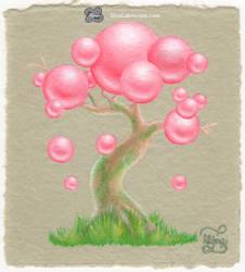 Sakura Pearl Bonsai Bubble Tree