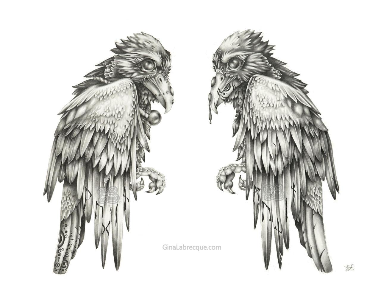 Odin's Ravens Web