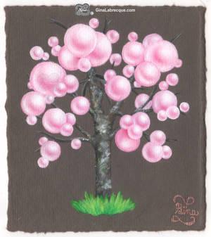Sakura Maple Bonsai Bubble Tree