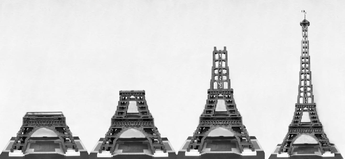La Tour Eiffel LEGO by fit51391