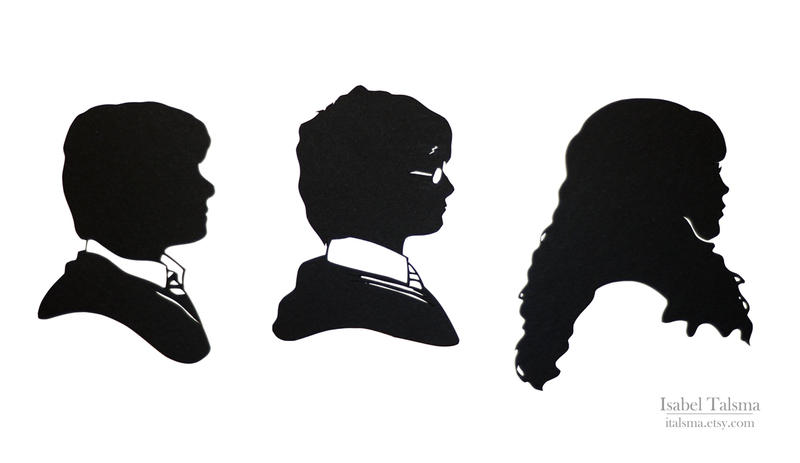 The Golden Trio (Year 2) Silhouettes by fit51391
