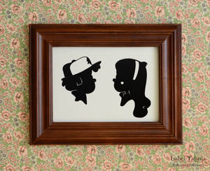 The Mystery Twins (Gravity Falls Silhouettes)