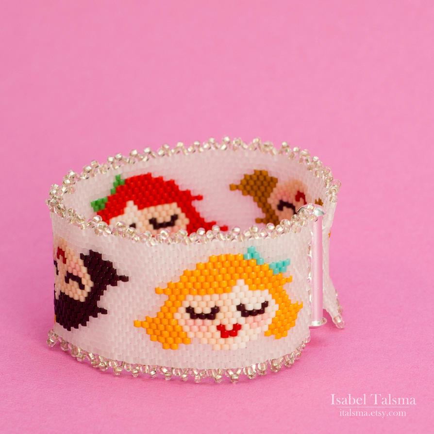 Little Ladies Woven Bracelet by fit51391