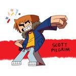 Scott Pilgrim by BlockHeadComic