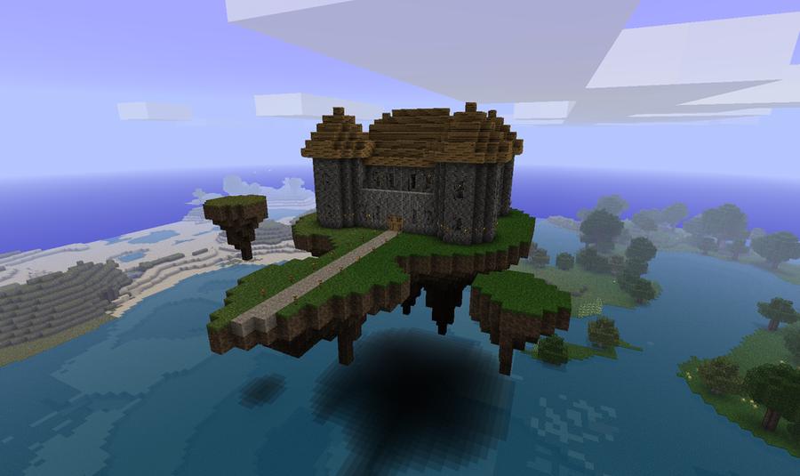 Image Minecraft Fond D  Ef Bf Bdcran Build Fantasy