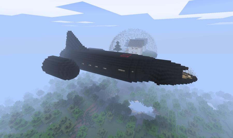Minecraft Spaceship Design Minecraft: space ship by cj64