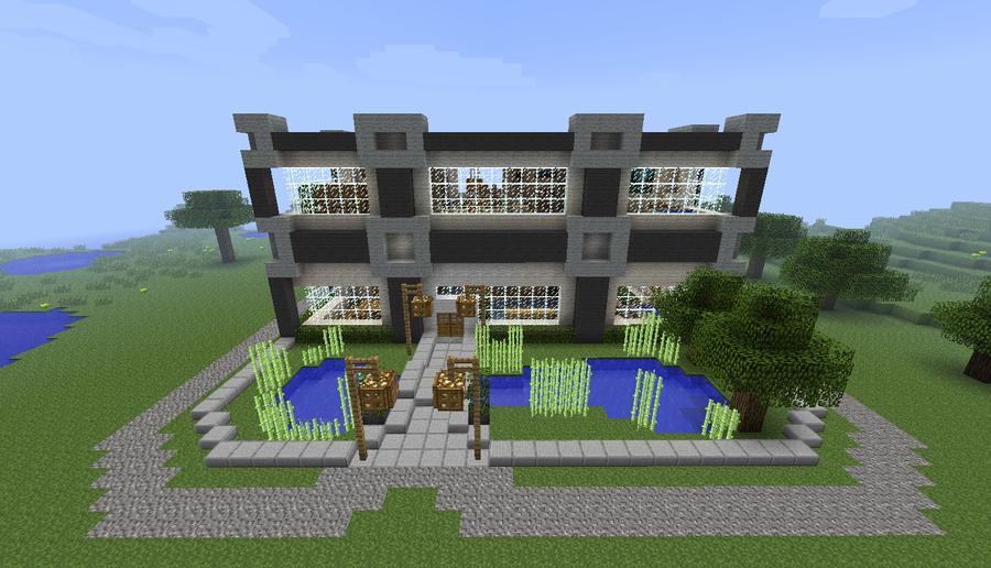 Minecraft Modern Home MCF Server by CJ64 on DeviantArt