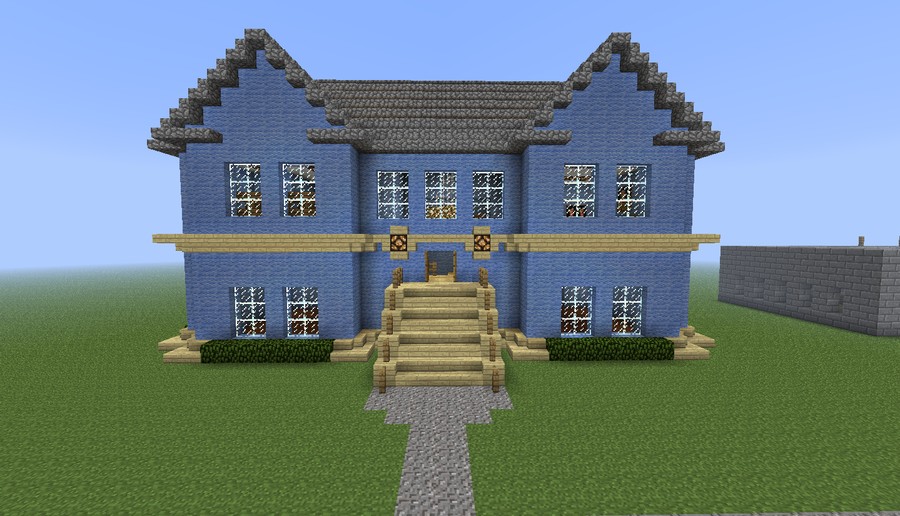 Victorian Style House Minecraft Minecraft Victorian Home By