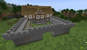 Minecraft: Medieval Barracks