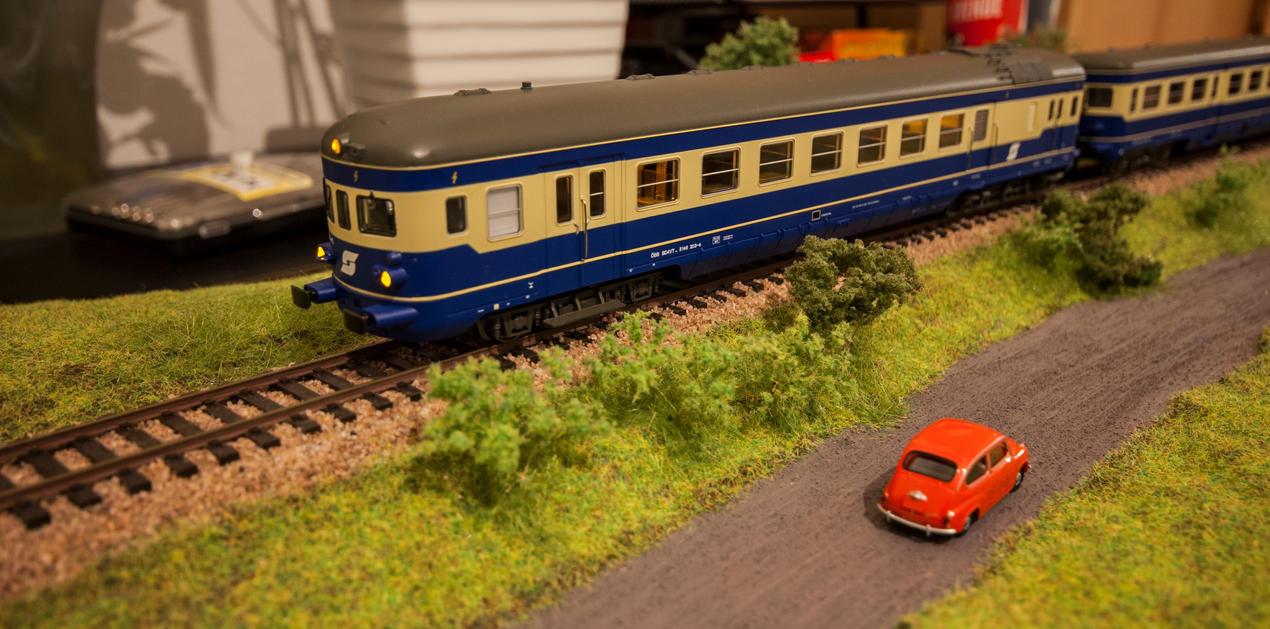 Modellbahndiorama by mark1214
