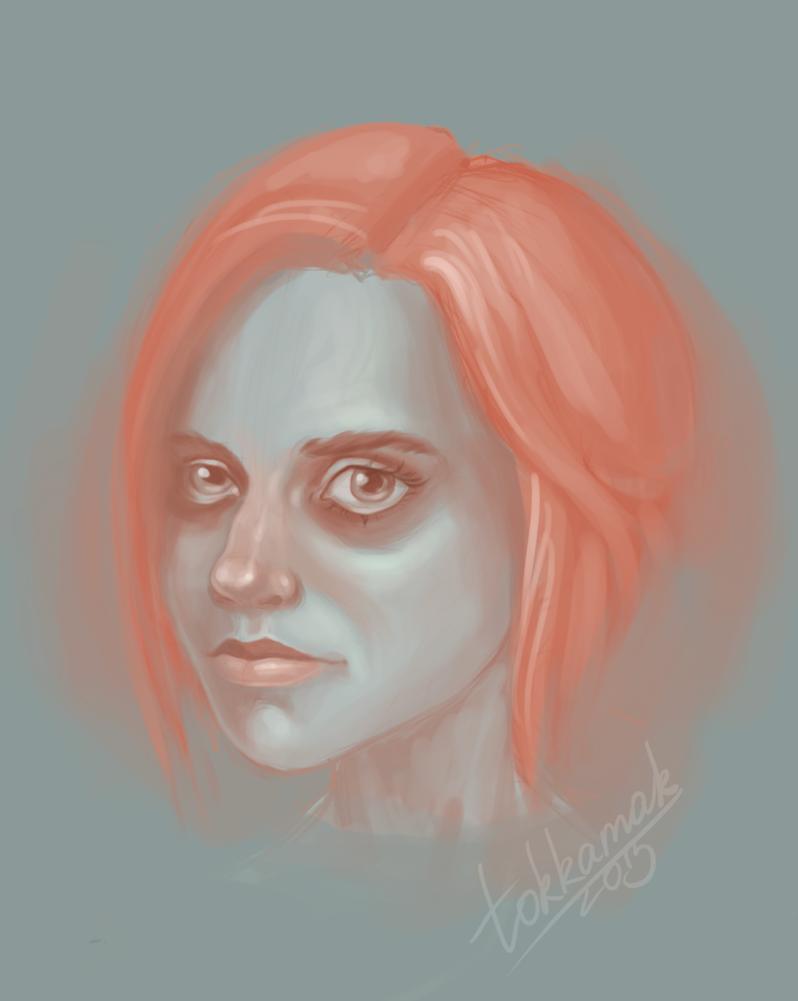 Self-portrait by tokkamak