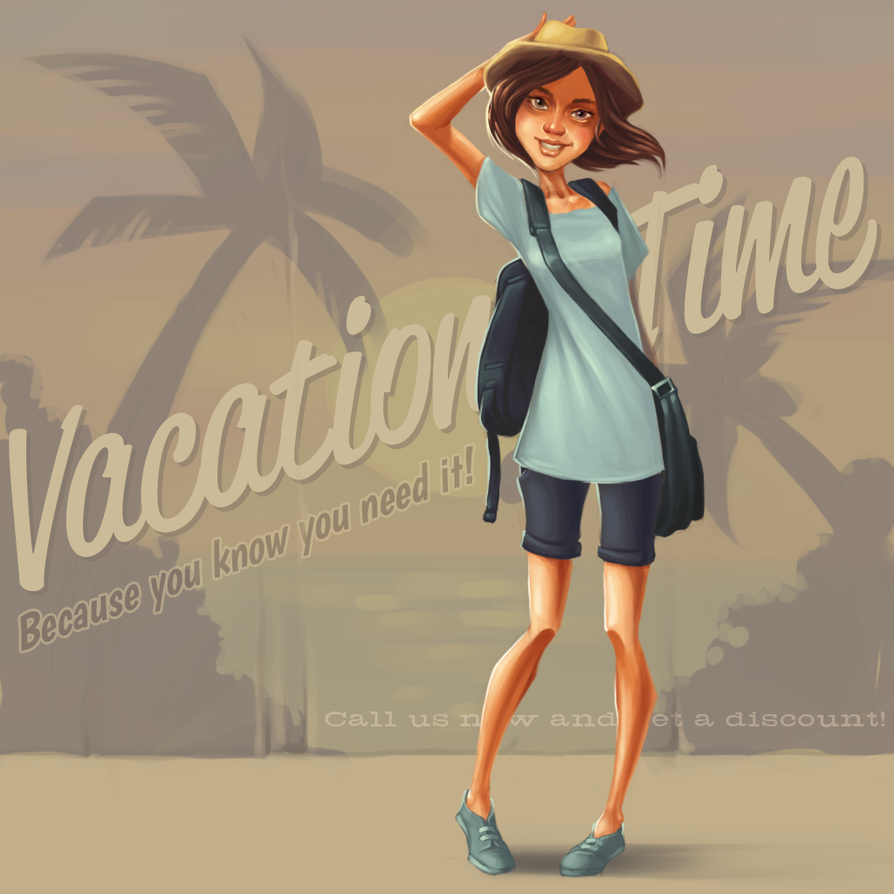 Vacation TIme by tokkamak
