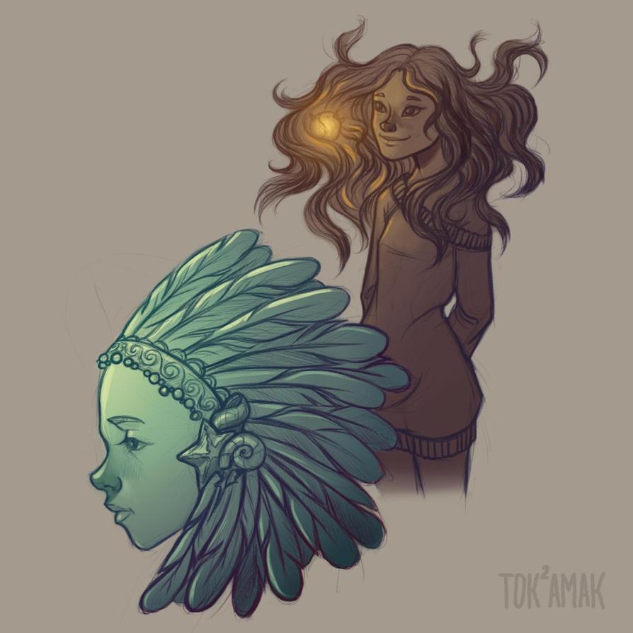 Nighttime sketch by tokkamak