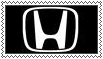 Honda Logo Stamp by LuckyBambooPhotos