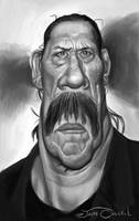 DANNY TREJO - MACHETE by JaumeCullell