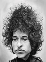 BOB DYLAN by JaumeCullell