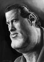 STEVEN SEAGAL by JaumeCullell