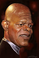SAMUEL L. JACKSON by JaumeCullell