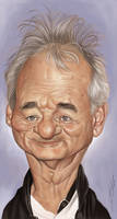 BILL MURRAY by JaumeCullell