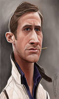 RYAN GOSLING by JaumeCullell