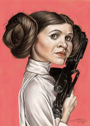 PRINCESS LEIA by JaumeCullell