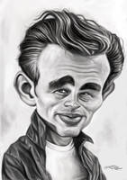 JAMES DEAN by JaumeCullell
