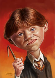 RON WEASLEY by JaumeCullell