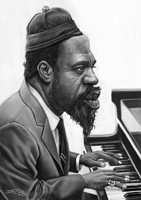 THELONIOUS MONK by JaumeCullell
