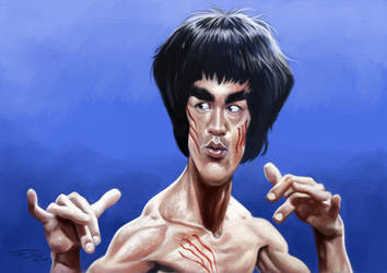BRUCE LEE by JaumeCullell