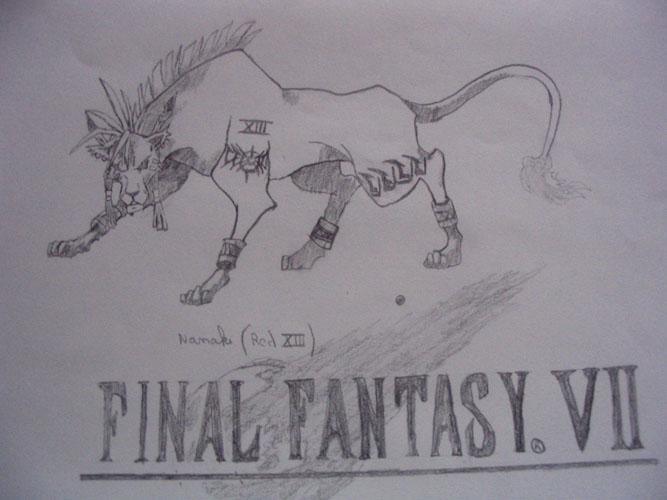 Le coin des dessinateurs - Page 2 Nanaki_by_polokyor