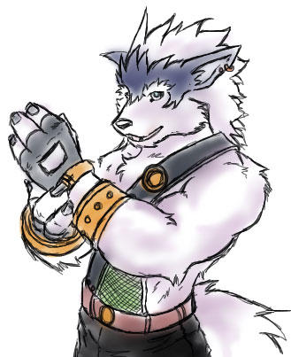 Kenka Warrior_Wolf