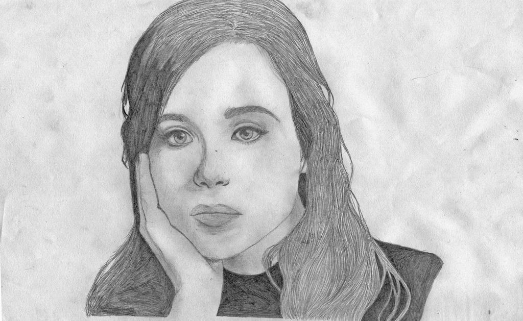 Ellen page by fairyville