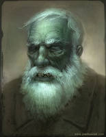 Portrait of an Old Dead Guy by joelhustak
