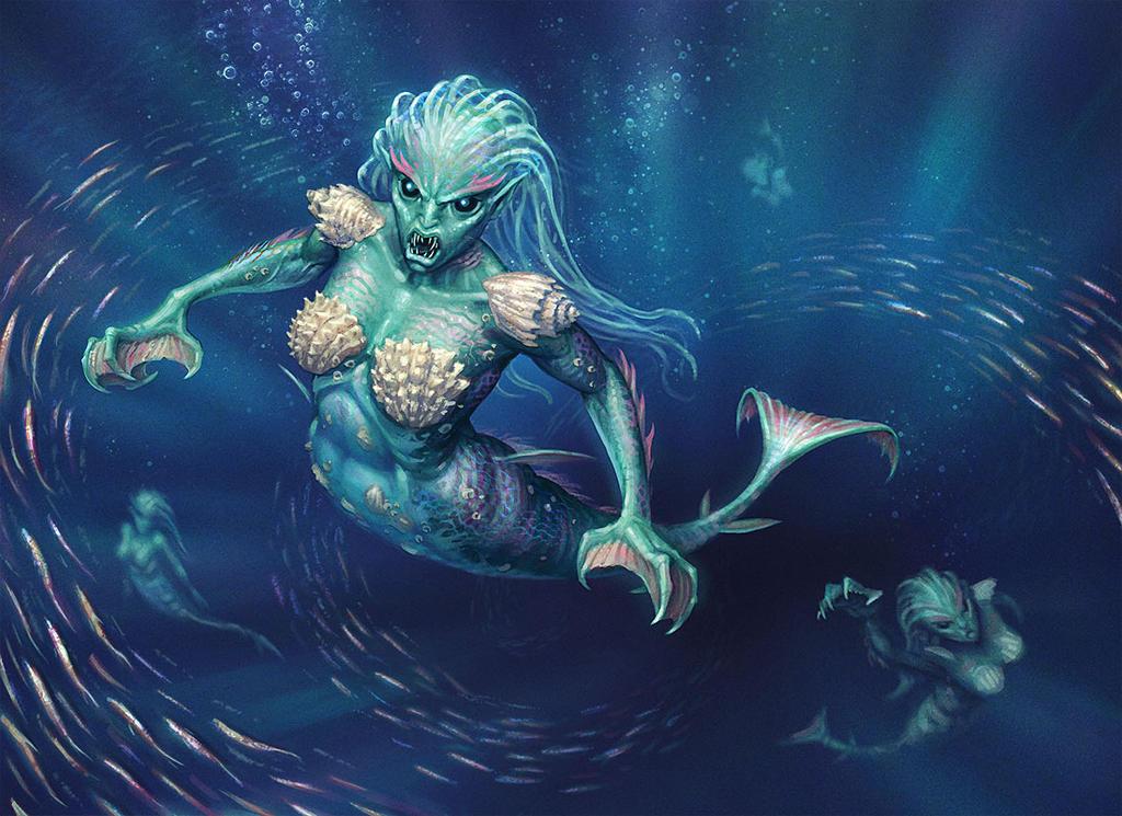 Rampant Oceanids by joelhustak