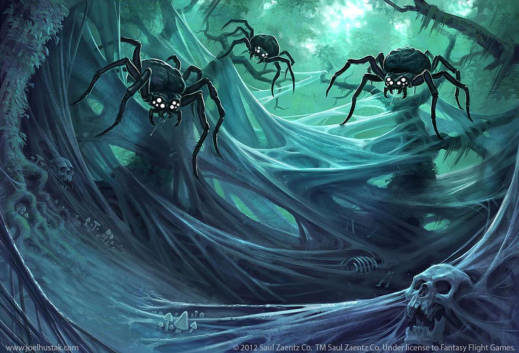 The Spider's Glade by joelhustak