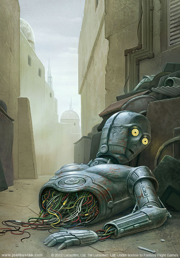 Adventure Busted Droid by joelhustak
